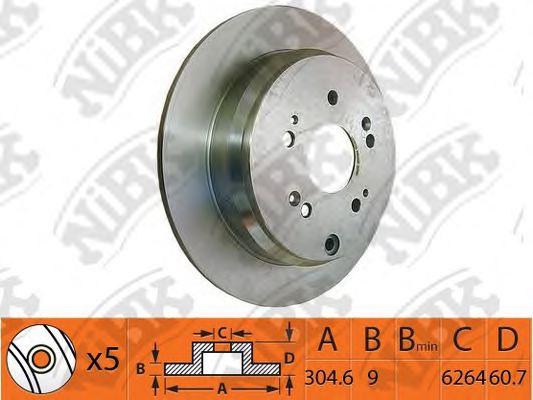Acura 42510-STK-A10 Disc Brake Rotor