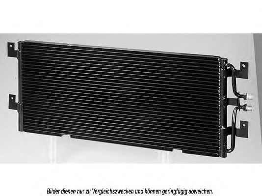 VW 701840413D Condenser, air conditioning