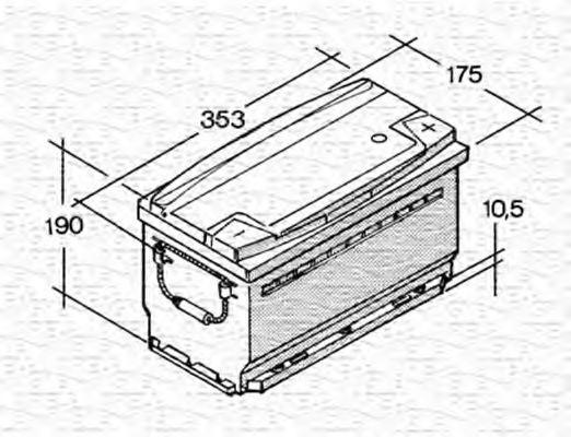 067143440003 magneti marelli 067143440003 starter battery