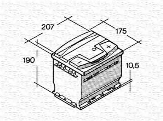 067143640003 magneti marelli 067143640003 starter battery