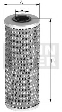 MANN-FILTER H 1074 Hydraulic Filter, automatic transmission