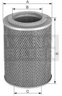 MANN-FILTER H 11 106 Hydraulic Filter, automatic transmission