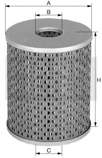 MANN-FILTER H 1059/2 Hydraulic Filter, automatic transmission