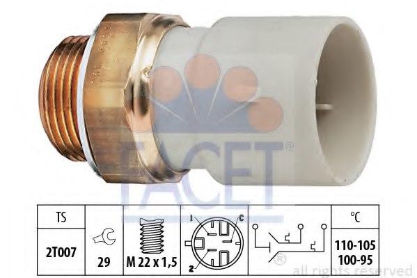FEBI BILSTEIN Temperature Switch radiator fan 17693