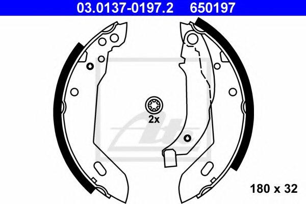 Ferodo FSB225 Brake Shoe Set set of 4