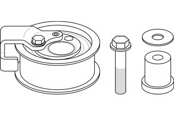 110047 topran 110 047 tensioner pulley  timing belt for audi