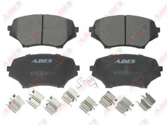 Advics Borg /& Beck BBP2075 Front Brake Pads