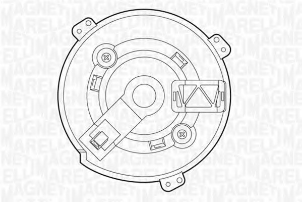 069412521010 magneti marelli 069412521010 interior blower for dodge fiat