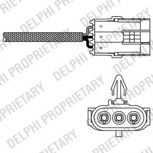 es1097012b1 delphi es10970 12b1 lambda sensor for renault. Black Bedroom Furniture Sets. Home Design Ideas