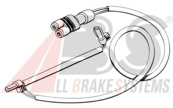 A.B.S. 39577 Warning Contact, brake pad wear