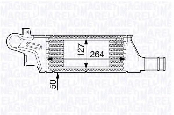 351319202130 magneti marelli 351319202130 intercooler