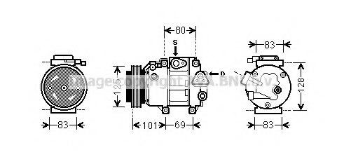 hyk240 ava quality cooling hyk240 compressor  air