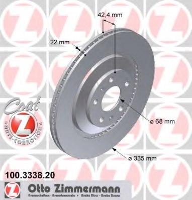 Zimmerman 083-3425Z Rotor Beck Arnley