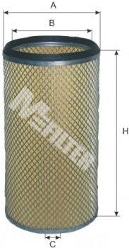 Valet Filtre à Air Lx 3583 pour IVECO
