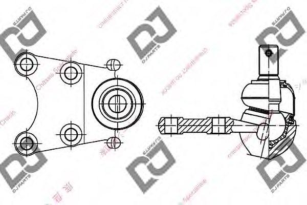 db1060 dj parts db1060 ball joint for isuzu opel saab vauxhall