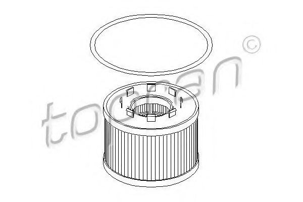 301760 topran 301 760 oil filter for ford