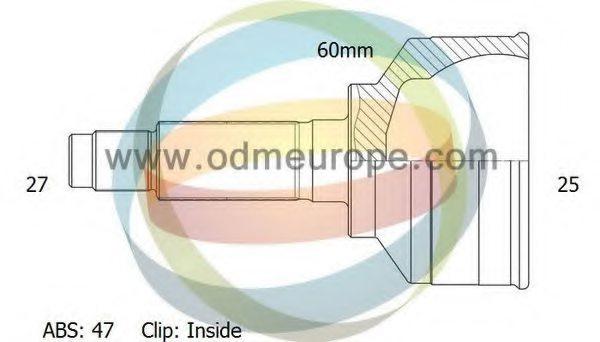 Jakoparts J28205107 Drive Shaft Joint Kit