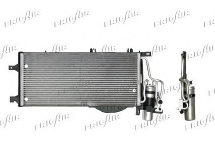 GENERAL MOTORS 13106021 Condenser, air conditioning