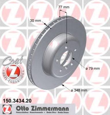 Beck Arnley 083-3235Z Zimmerman Rotor
