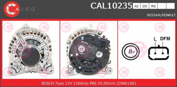 SANDO 2010235.0 Alternatore