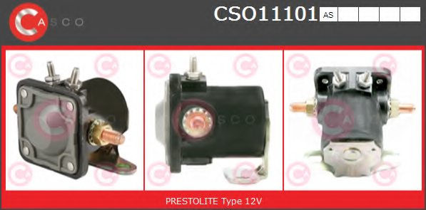 CASCO CSO11101AS Solenoid Switch, starter
