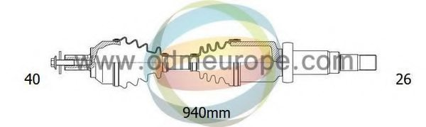 FORD 6G91-3B436-BE Drive Shaft