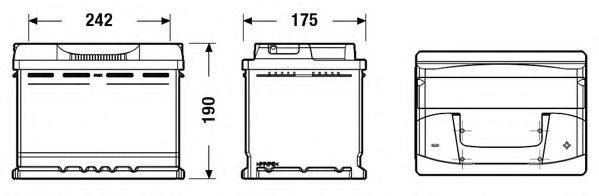 5k0915105d vag 5k0 915 105 d starter battery for vag. Black Bedroom Furniture Sets. Home Design Ideas