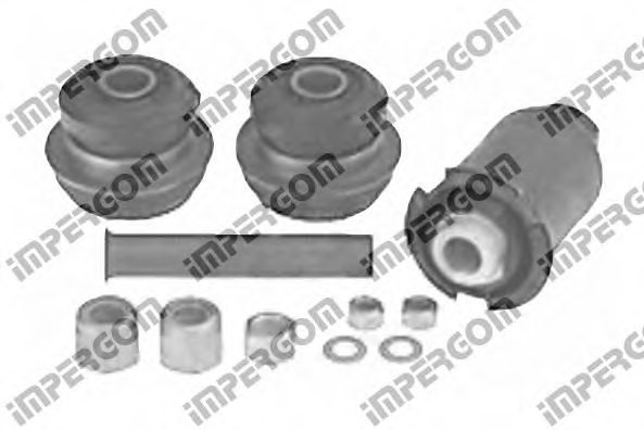 MERCEDES-BENZ 1243300775S1 Mounting Kit, control lever