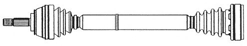 VW 803407271E Drive Shaft