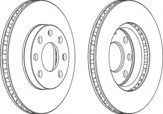 wn397 necto wn397 brake disc for alfa romeo chevrolet