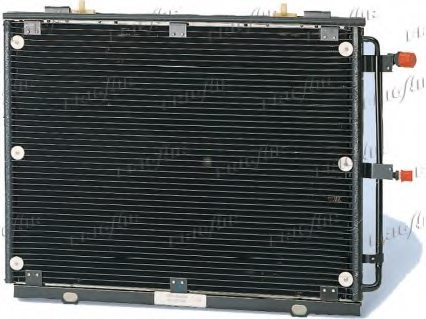 MERCEDES-BENZ A1408300670 Condenser, air conditioning