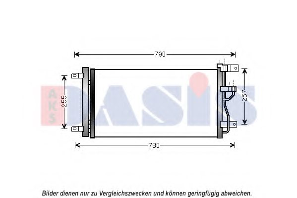 OPEL 4818691 Condenser, air conditioning
