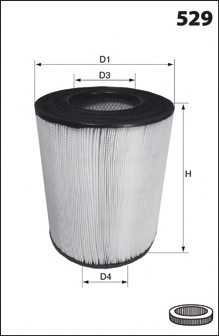 INTERNATIONAL HARV. 335714A1 Air Filter