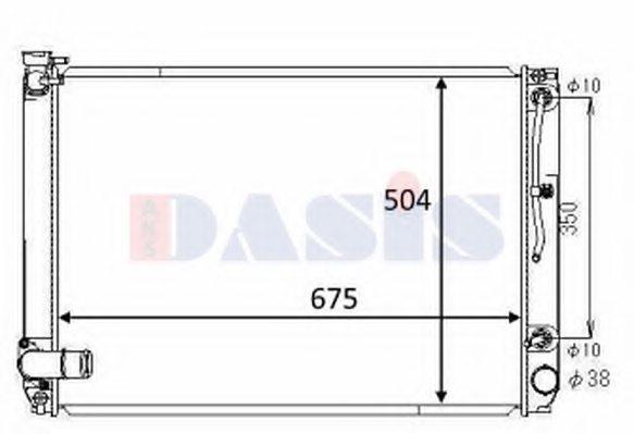 Nissens 646887/Radiator engine cooling