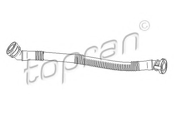 BMW 1 703 775 Hose, cylinder head cover breather