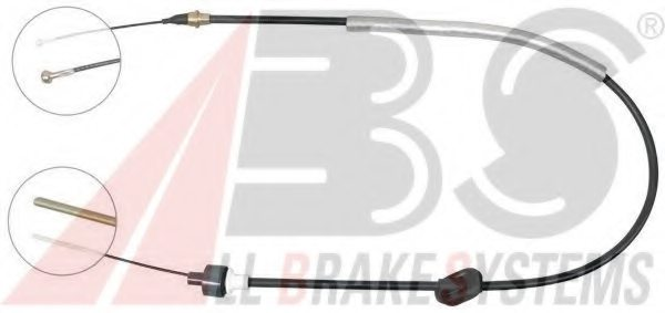 FORD 99VB7K553BA Clutch Cable