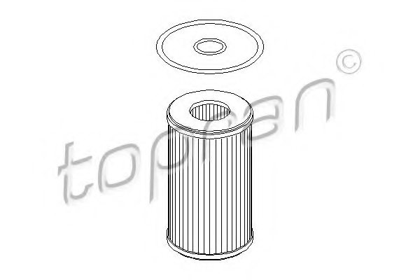 700469 topran 700 469 oil filter for renault