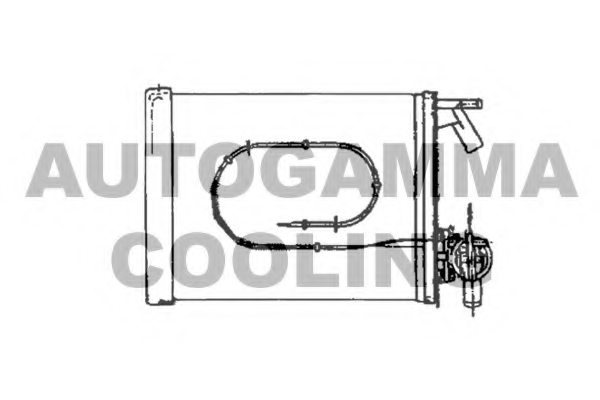 644848 fiat 644848 heat exchanger  interior heating for citro n fiat peugeot