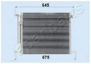 DAEWOO 96802950 Condenser, air conditioning