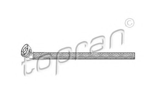 BMW 7 532 649 Hose, cylinder head cover breather