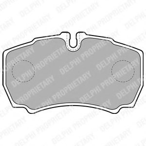 IVECO 284965 Brake Pad Set, disc brake
