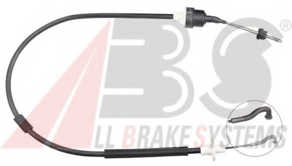 VAUXHALL 90209337 Clutch Cable