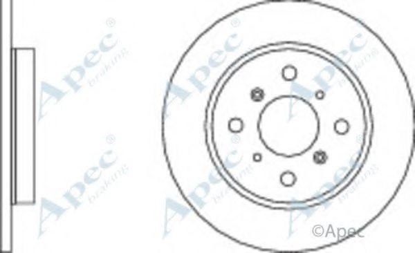 APEC braking DSK360 Brake Disc