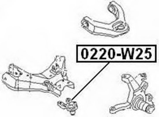 NISSAN 40160-3T425 Ball Joint