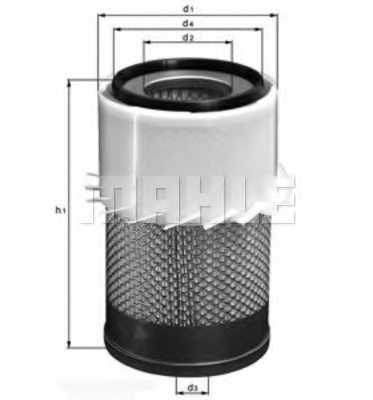 FORD C6TF9601A Air Filter