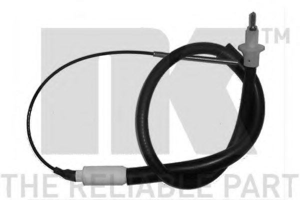 OPEL 669154 Clutch Cable