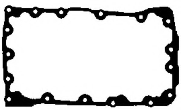 jh5012 payen jh5012 gasket  wet sump for land rover mg rover