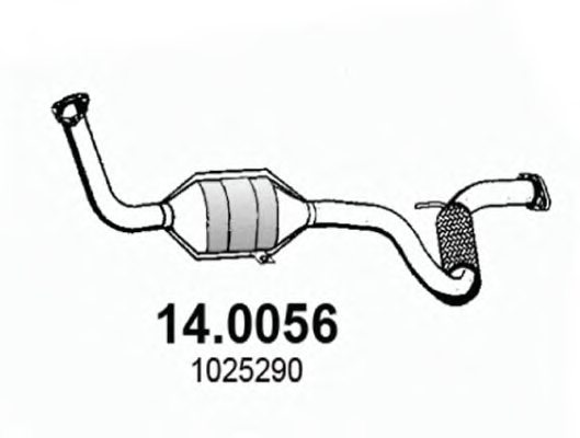 Asso 140056 Catalytic Converter: Catalytic Converter Autozone At Woreks.co