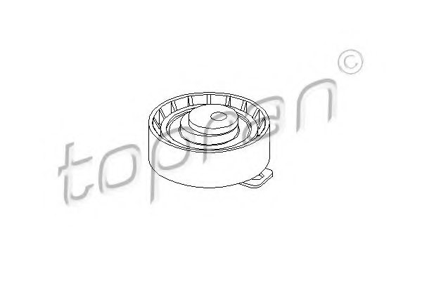 302154 topran 302 154 tensioner pulley  timing belt for ford