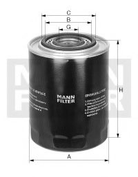 FORD 90 AU 6714 AA Oil Filter